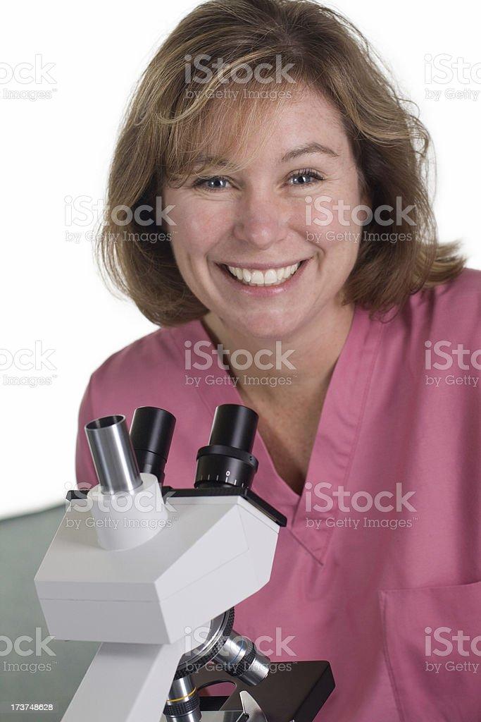 Nurse Lab Technician royalty-free stock photo