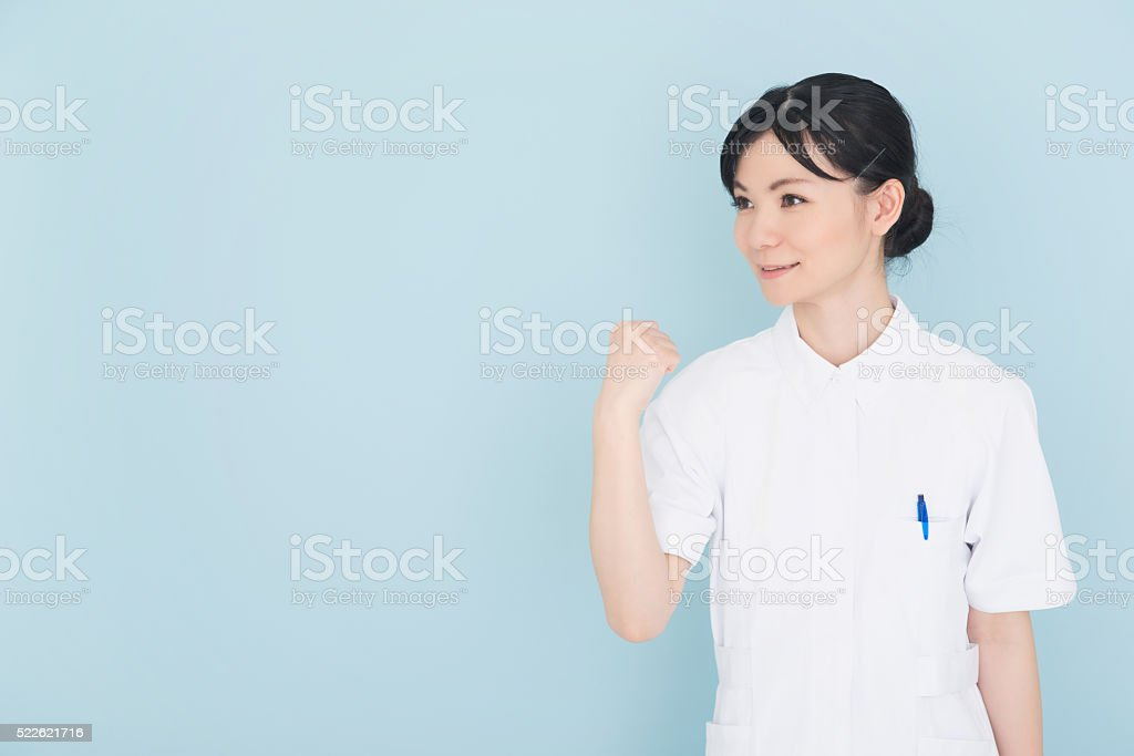 Nurse or health care workers stock photo