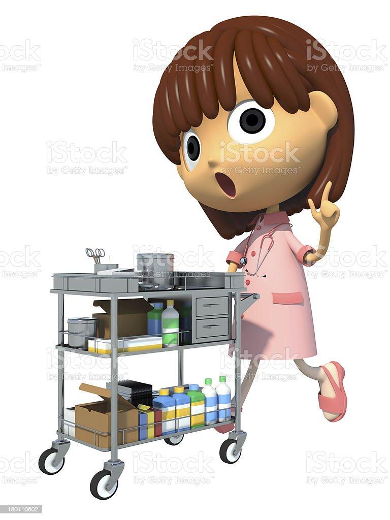 Nurse royalty-free stock photo