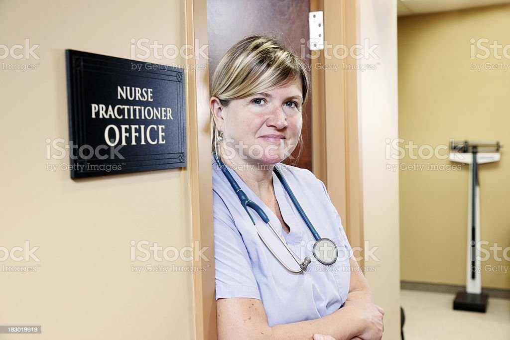 Nurse practitioner stock photo
