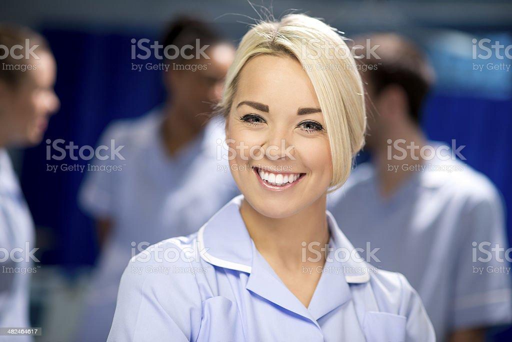 nurse team royalty-free stock photo