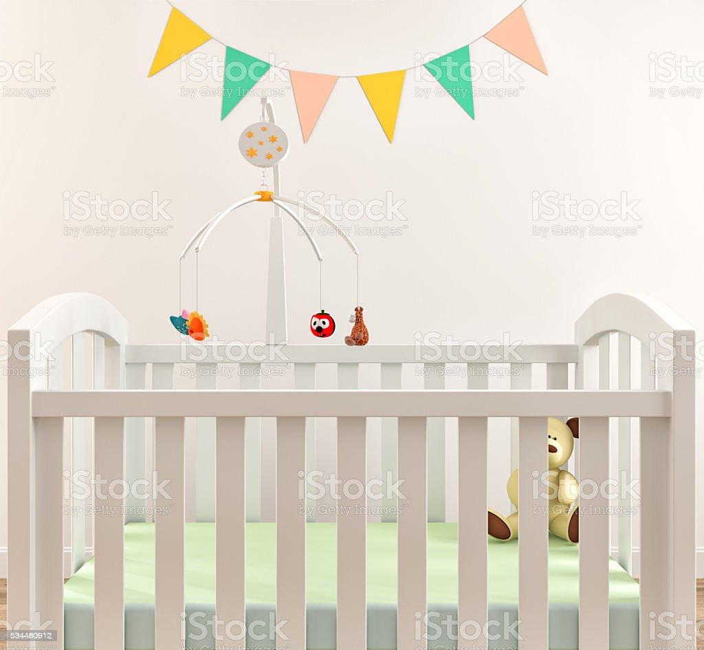 Nursery interior stock photo