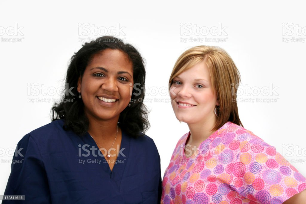 Nurses royalty-free stock photo