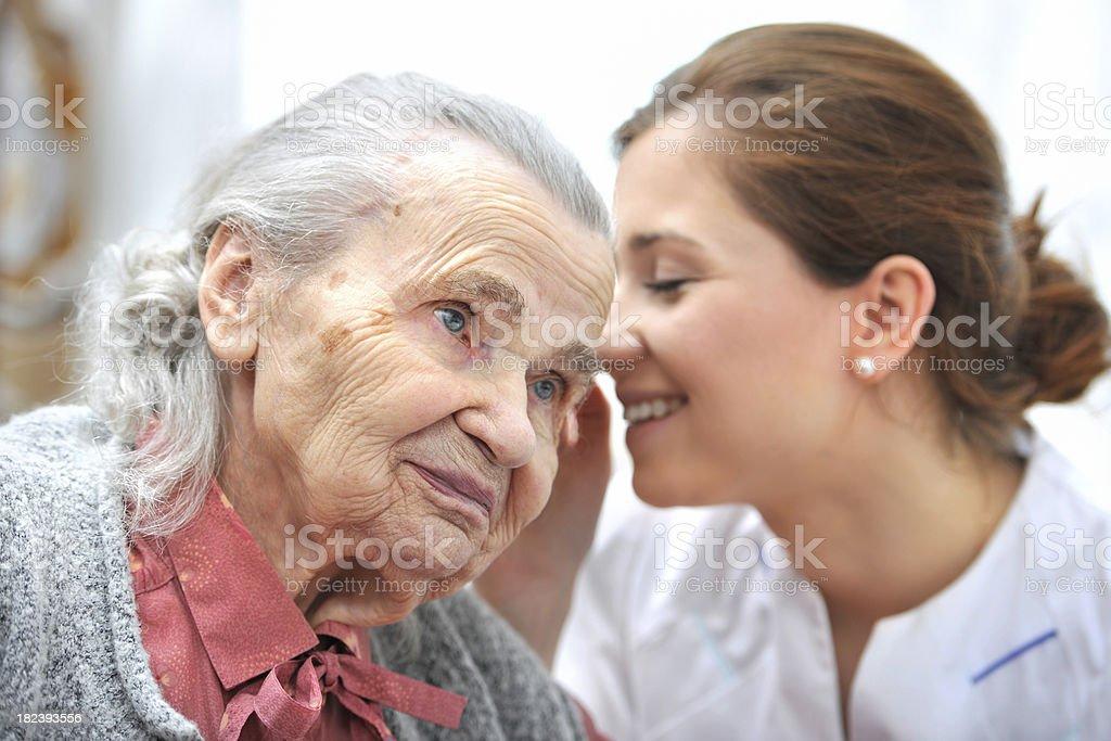 Nursing home royalty-free stock photo