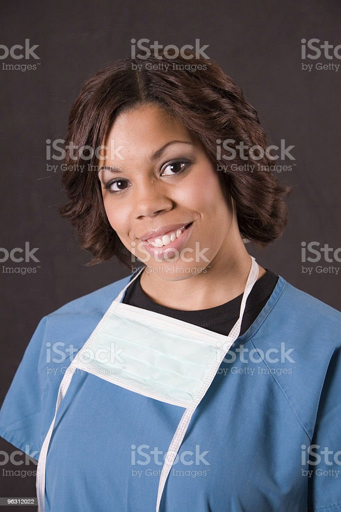 Nursing with a Smile royalty-free stock photo