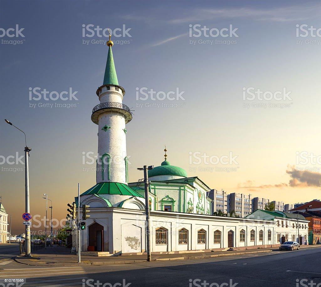 Nurullah Mosque. Kazan, Tatarstan, Russia. stock photo