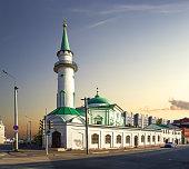 Nurullah Mosque. Kazan, Tatarstan, Russia.