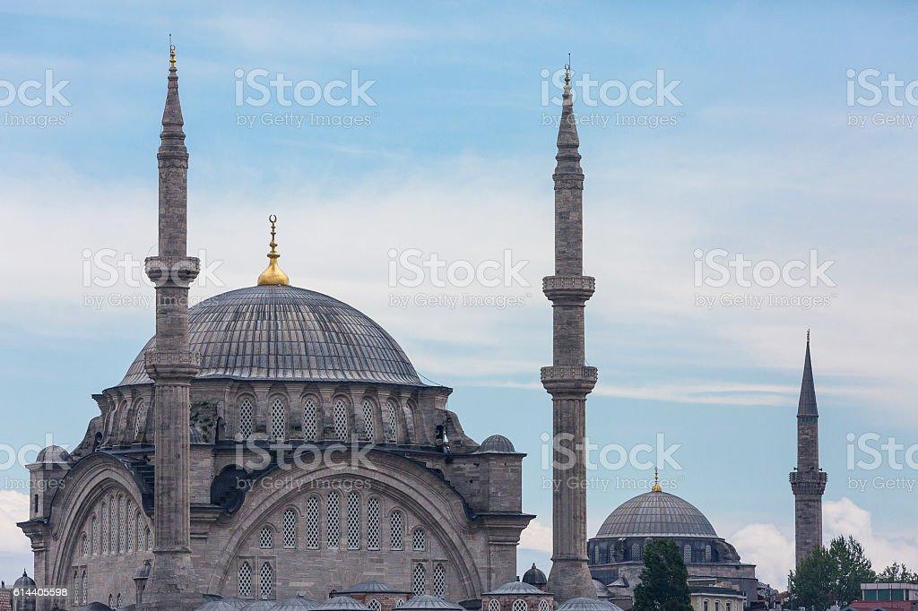 Nuruosmaniye Mosque, Istanbul, Turkey. stock photo