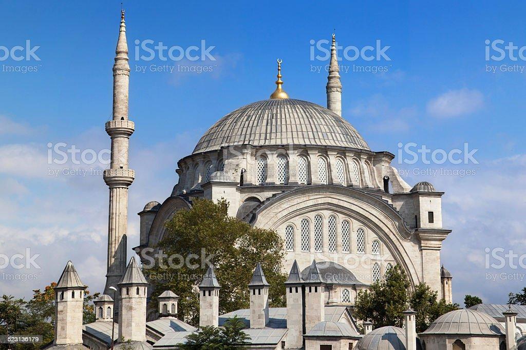 Nuruosmaniye Mosque stock photo