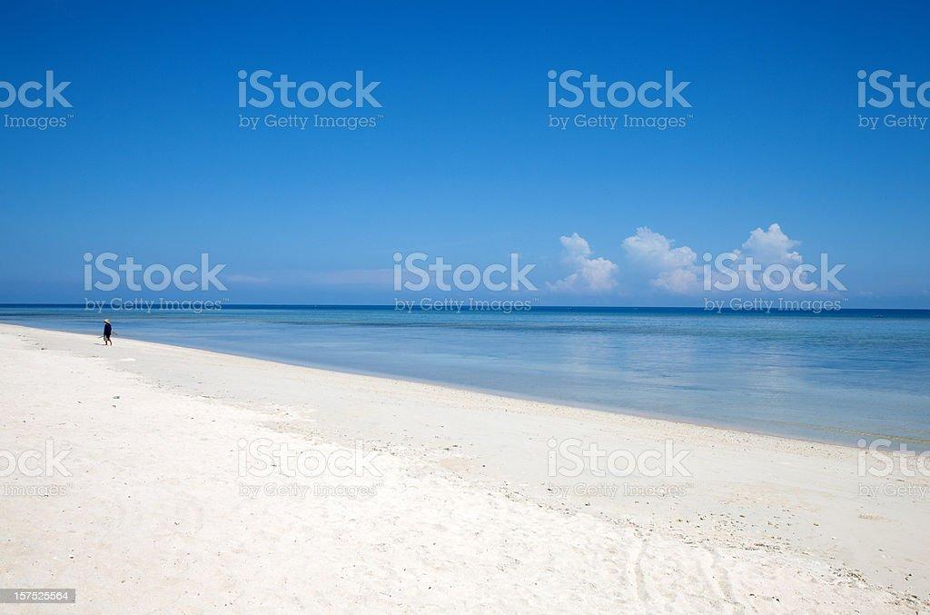 nusa dua beach, Bali stock photo