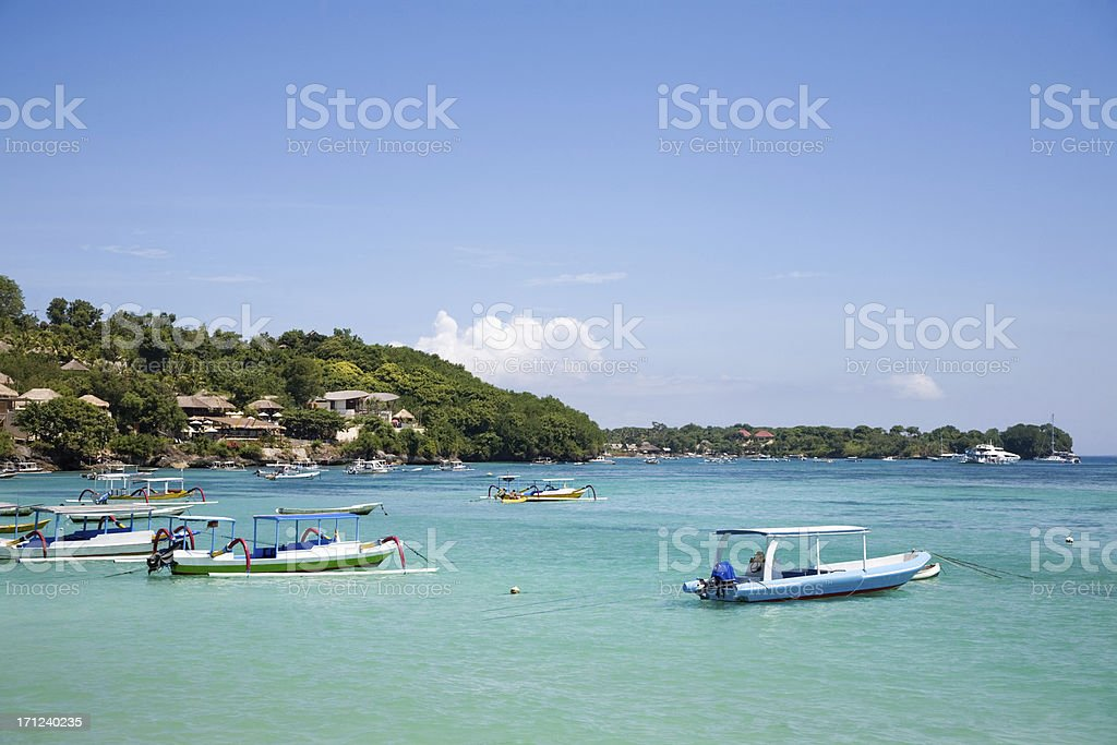 Nusa Lembongan Bali stock photo