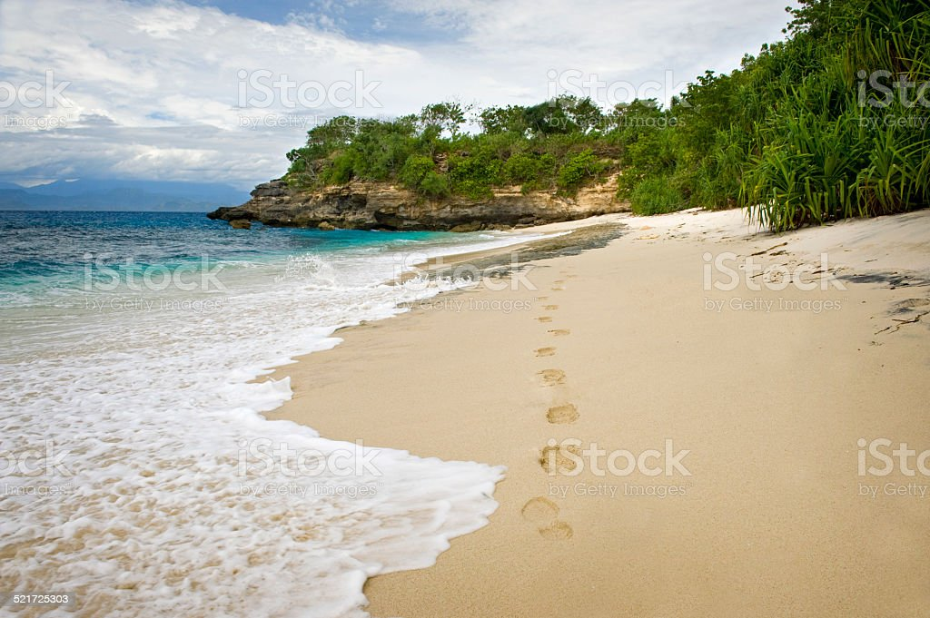 Nusa Lembongan, Bali. stock photo