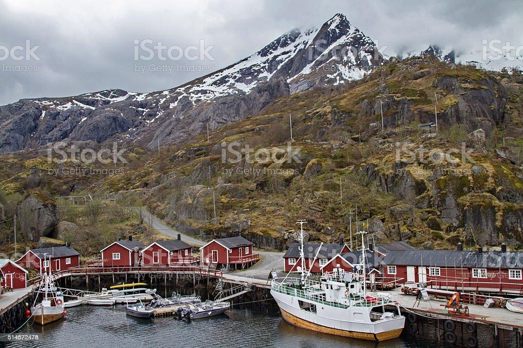 Nusfjord stock photo