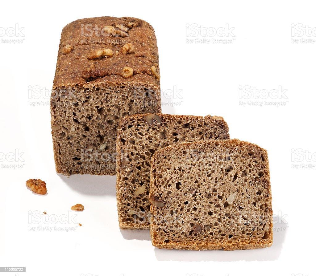 nut bread royalty-free stock photo
