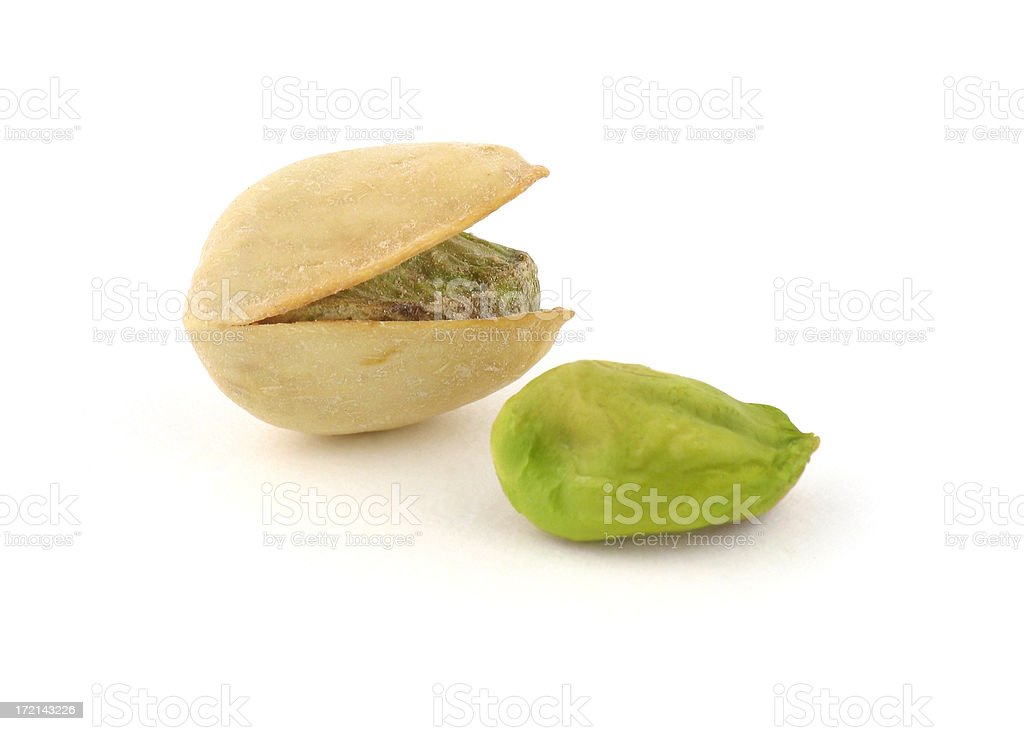 Nut Series: Pistachio stock photo