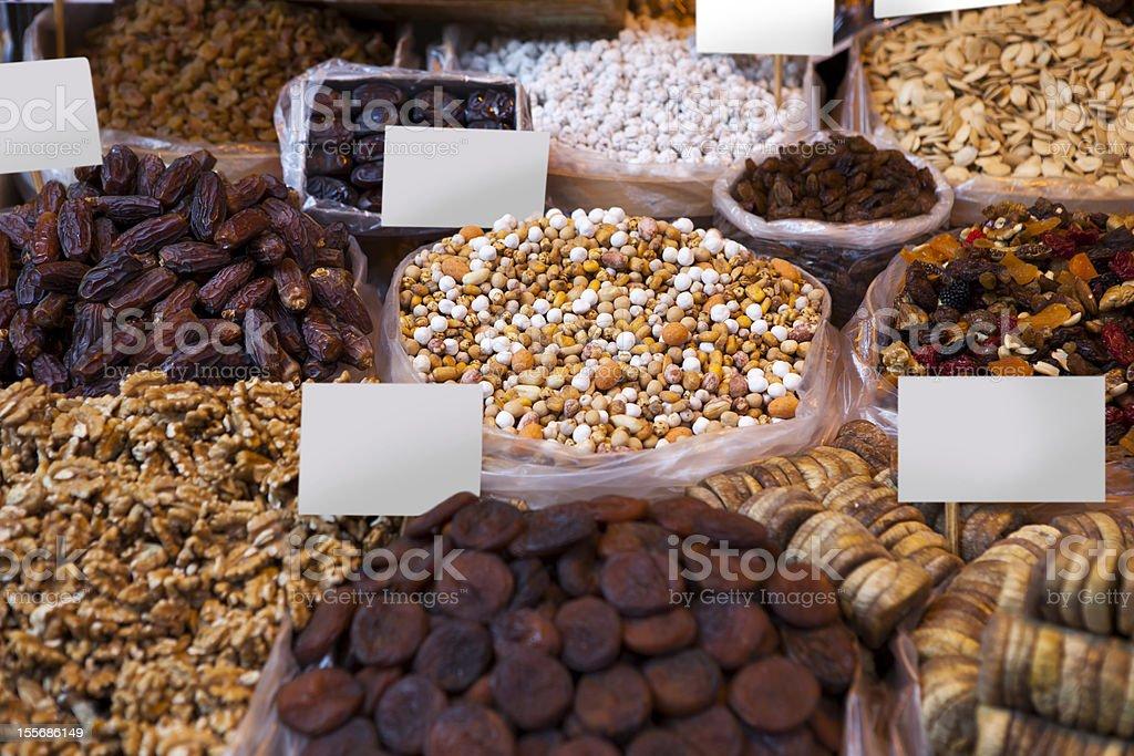 nut shop royalty-free stock photo