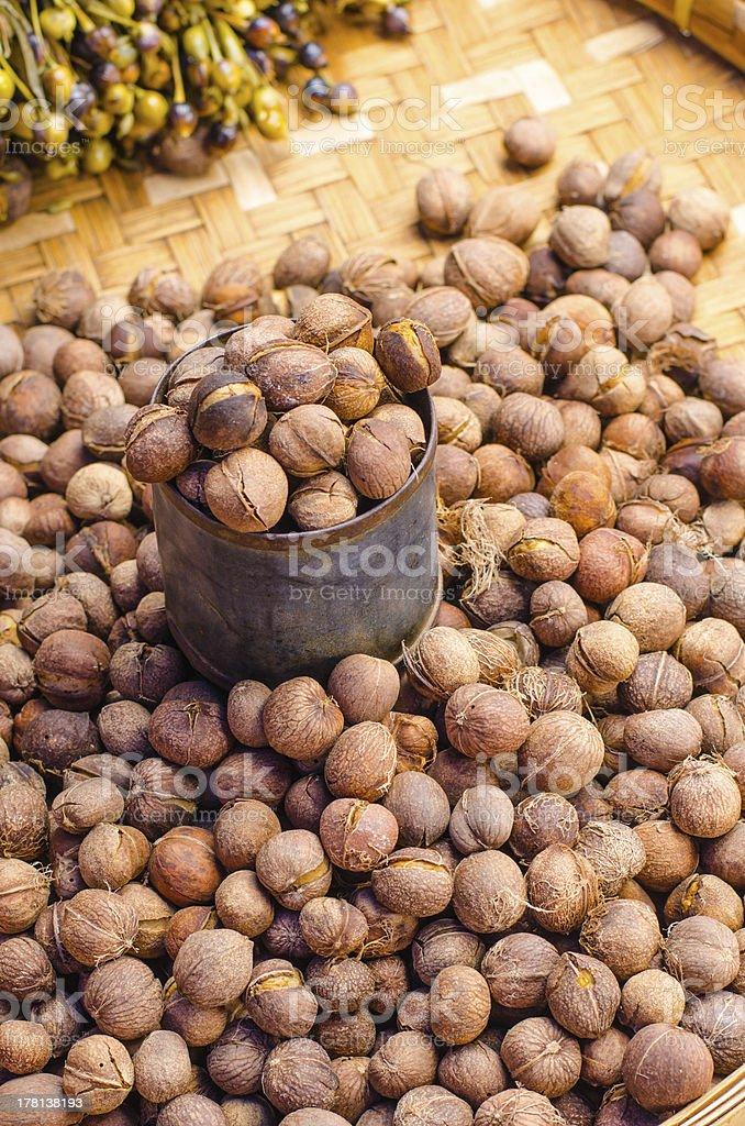 Nut texture royalty-free stock photo