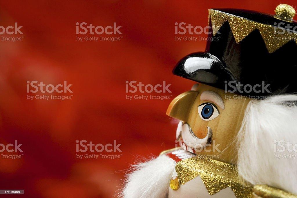Nutcracker stock photo
