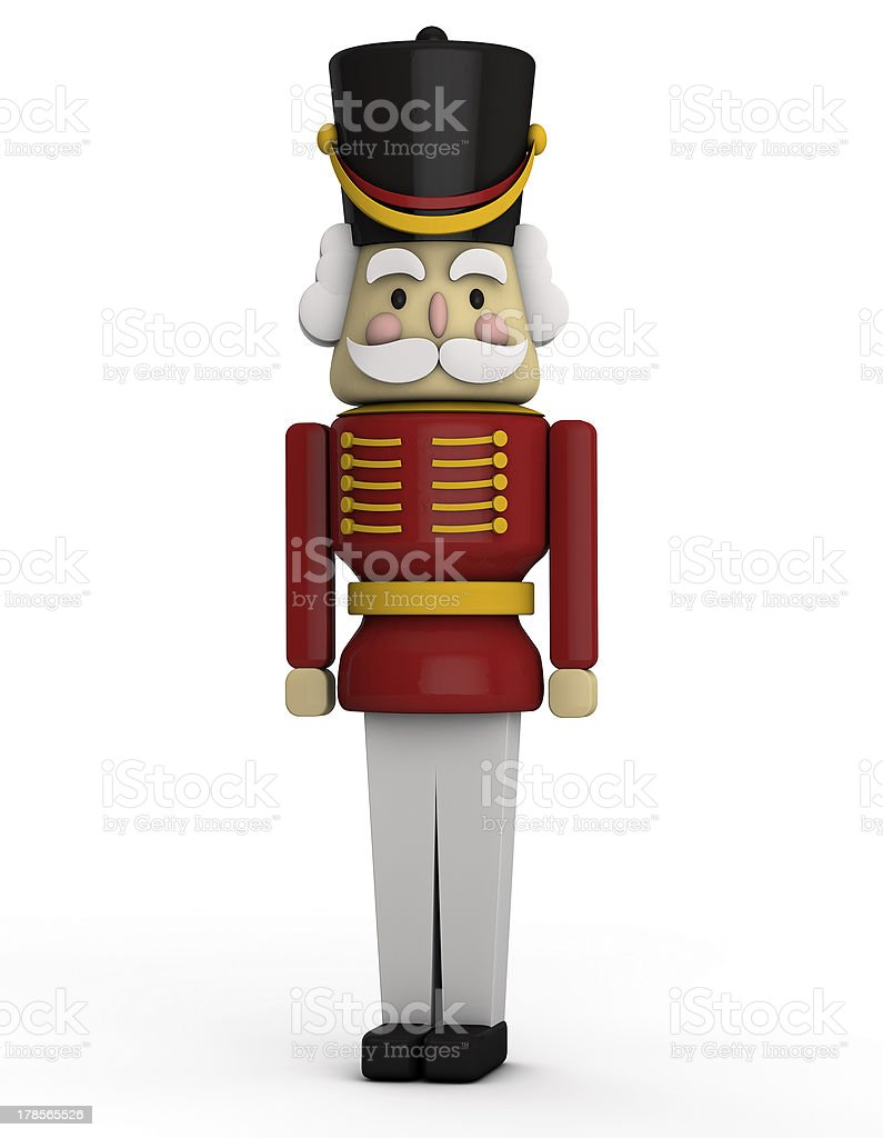 Nutcracker Toy Soldier stock photo
