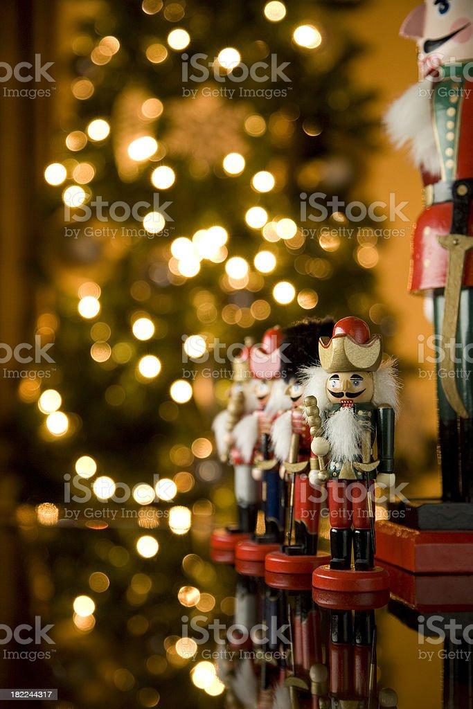 Nutcraker Christmas stock photo