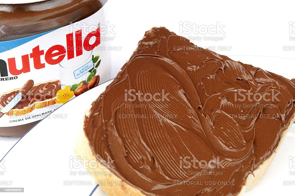 Nutella stock photo