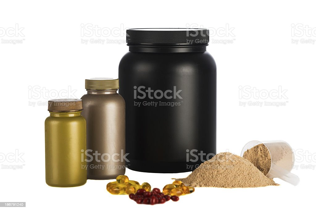 Nutrition and health stock photo