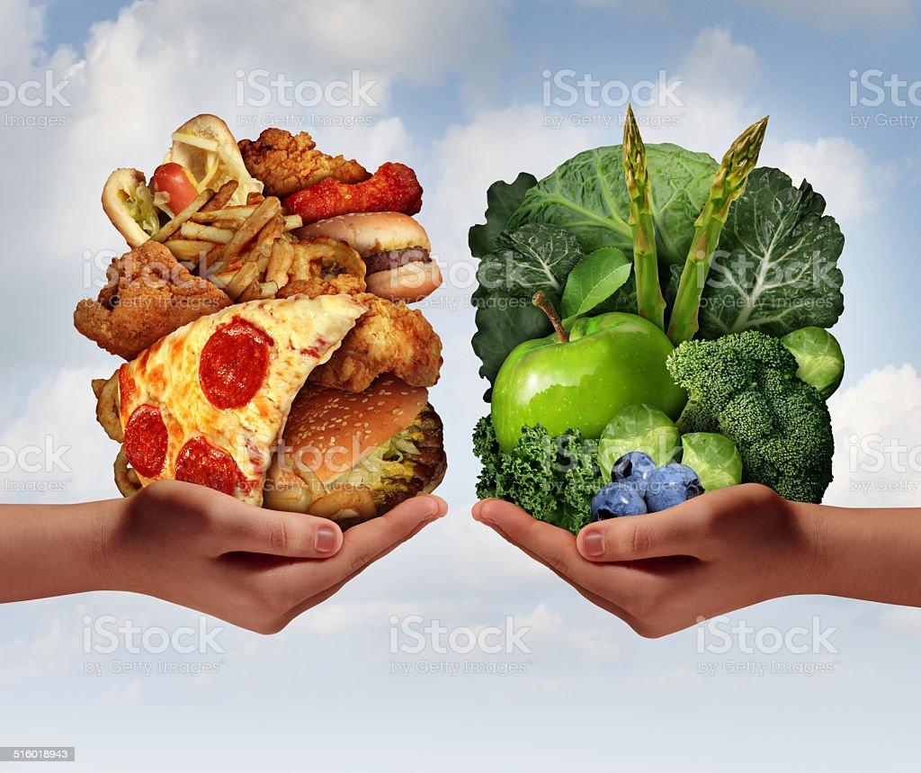 Nutrition Choice stock photo