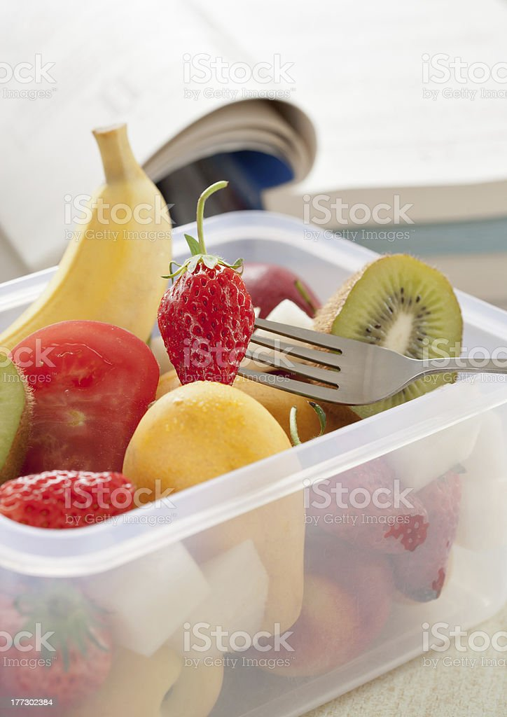 Nutrition lunch royalty-free stock photo