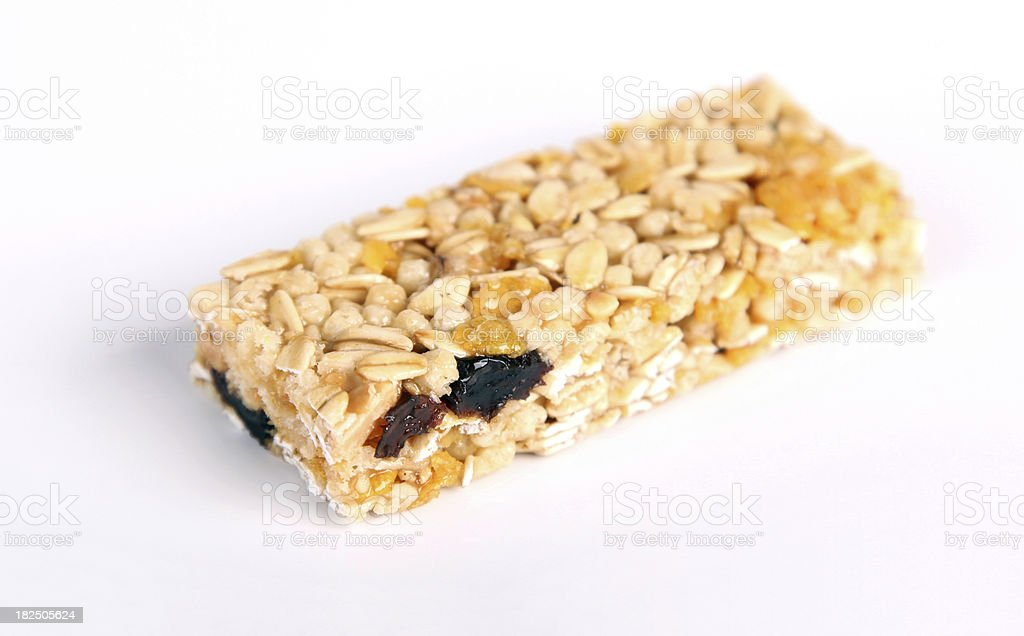Nutritional Breakfast Bar royalty-free stock photo