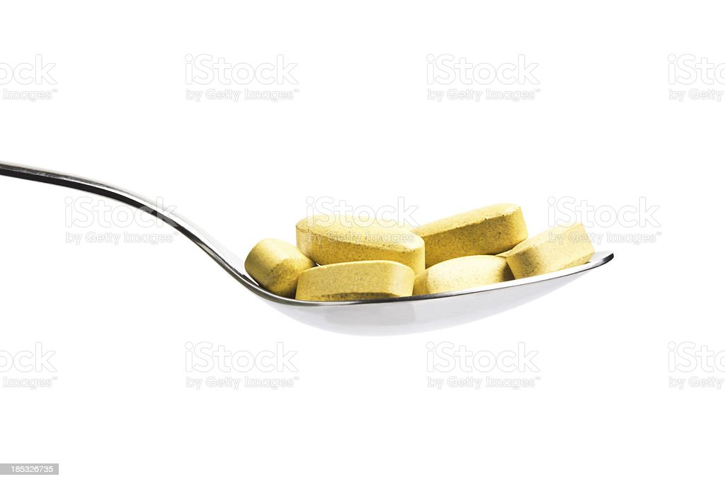 Nutritional Supplement royalty-free stock photo