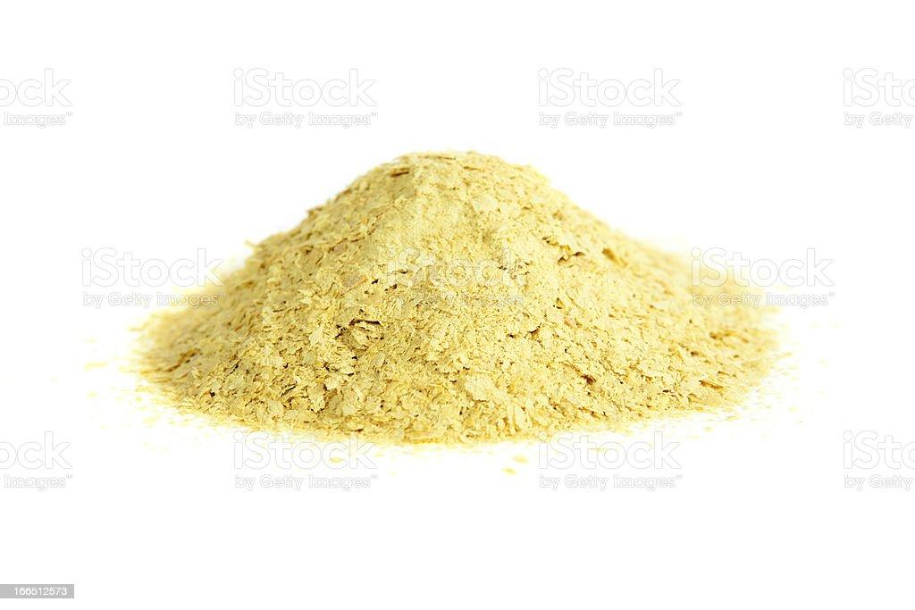 Nutritional yeast stock photo