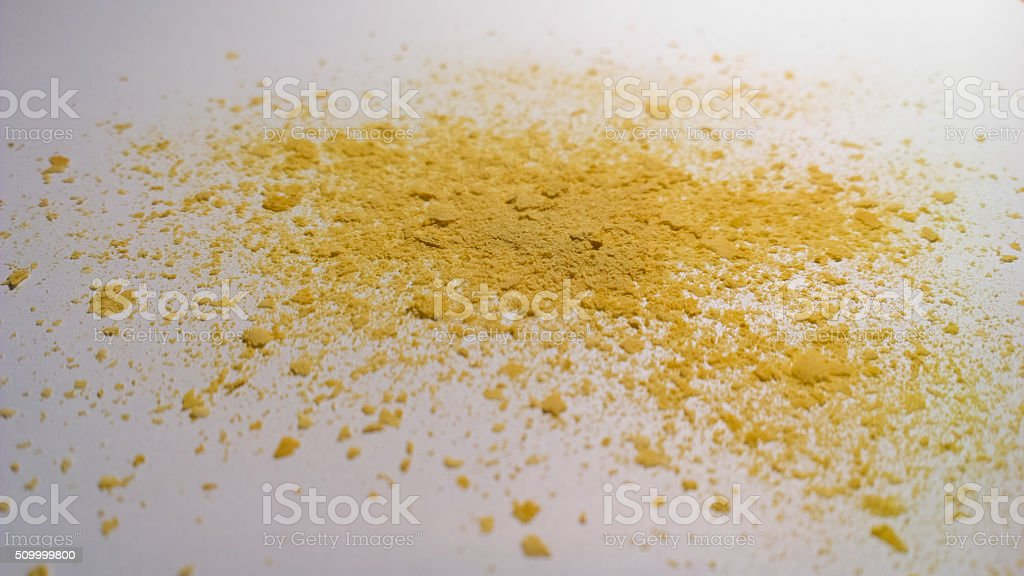 Nutritional Yeast Surface Level stock photo