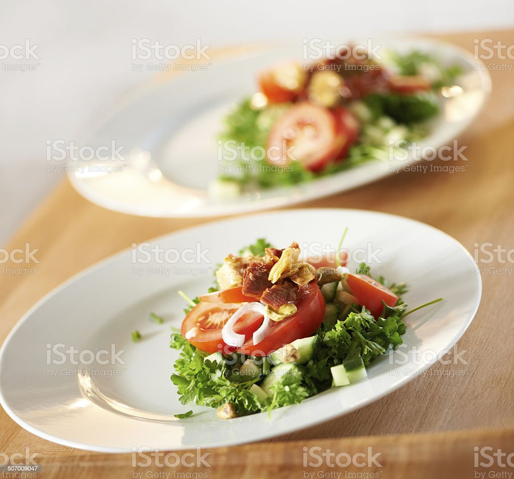 Nutritious and tasty! stock photo