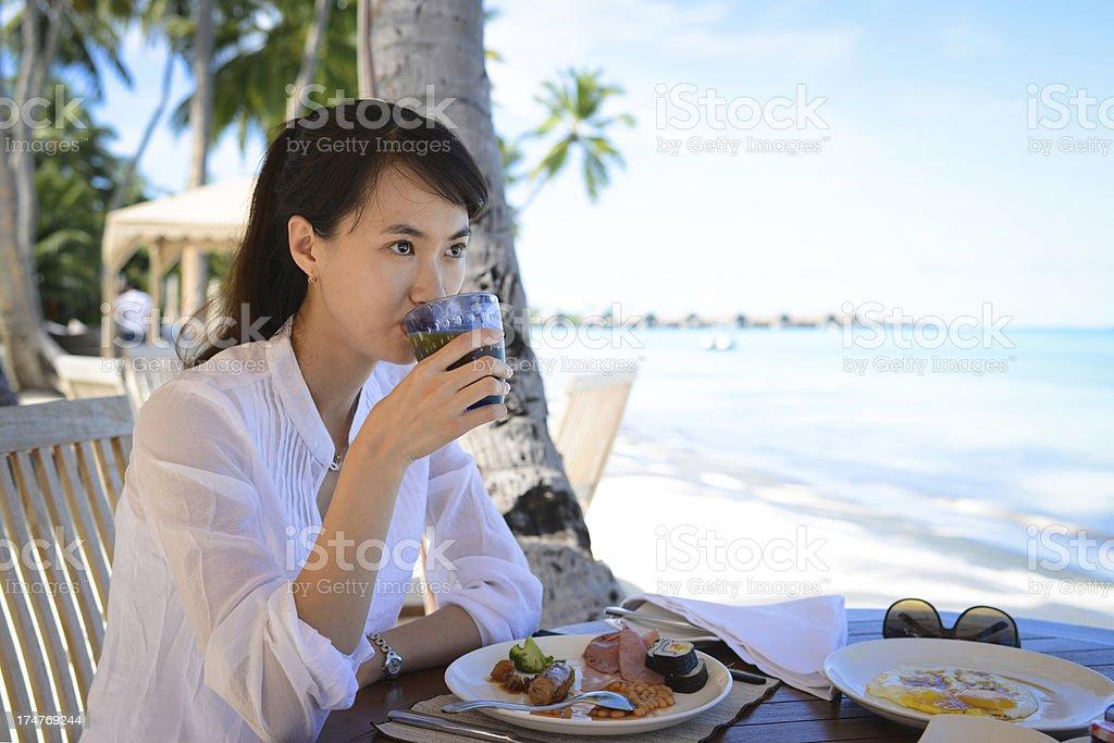 Nutritious Breakfast royalty-free stock photo