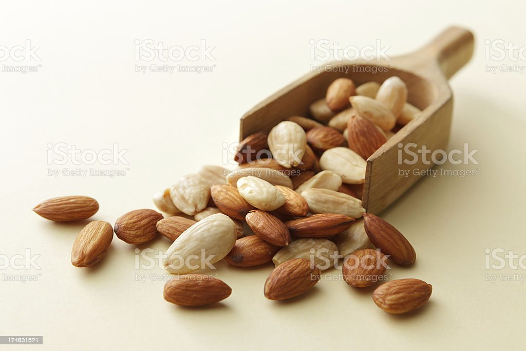 Nuts: Almond royalty-free stock photo