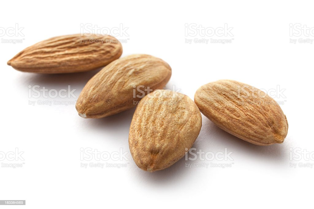 Nuts: Almond stock photo