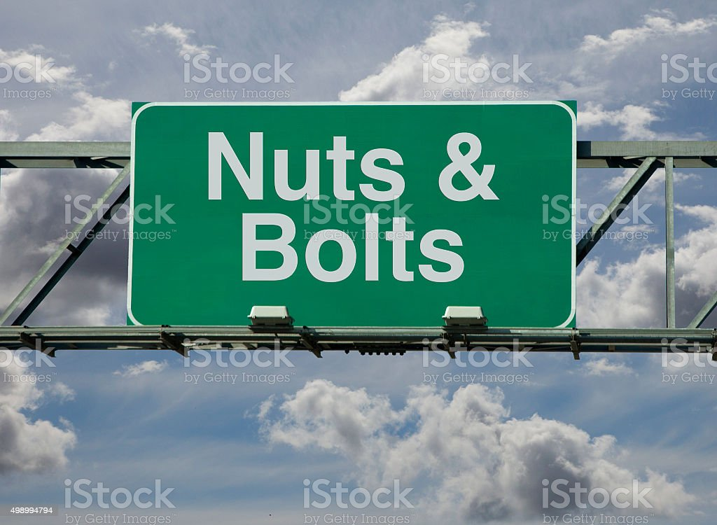 Nuts & Bolts stock photo