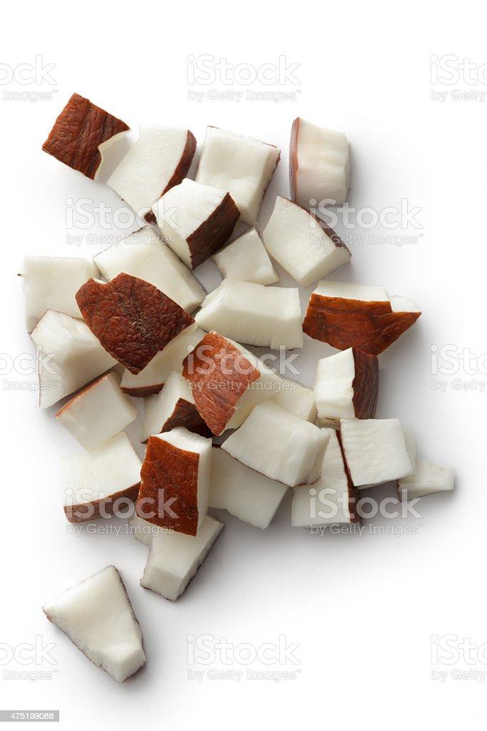 Nuts: Coconut stock photo