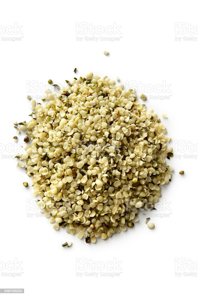 Nuts: Hemp Seed stock photo