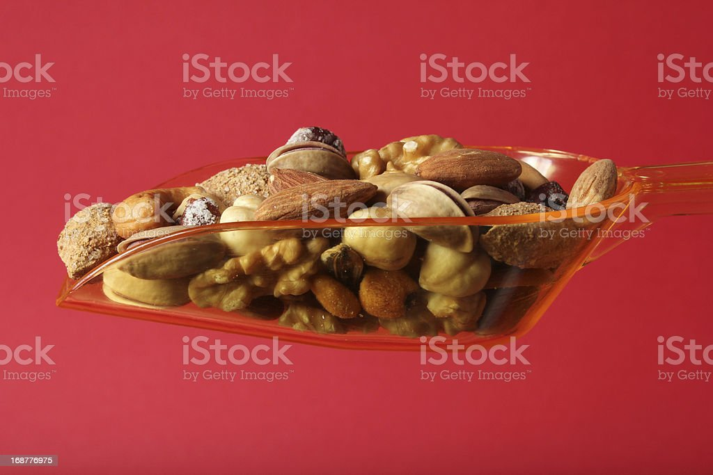 Nuts mixed royalty-free stock photo