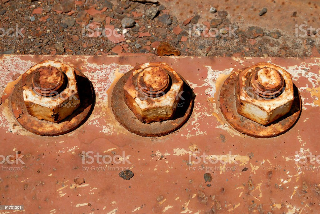 Nuts n Bolts stock photo