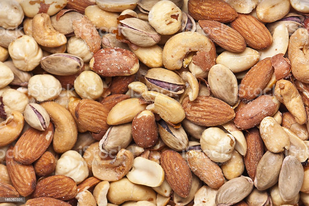 nuts, organic food and drink photo stock photo