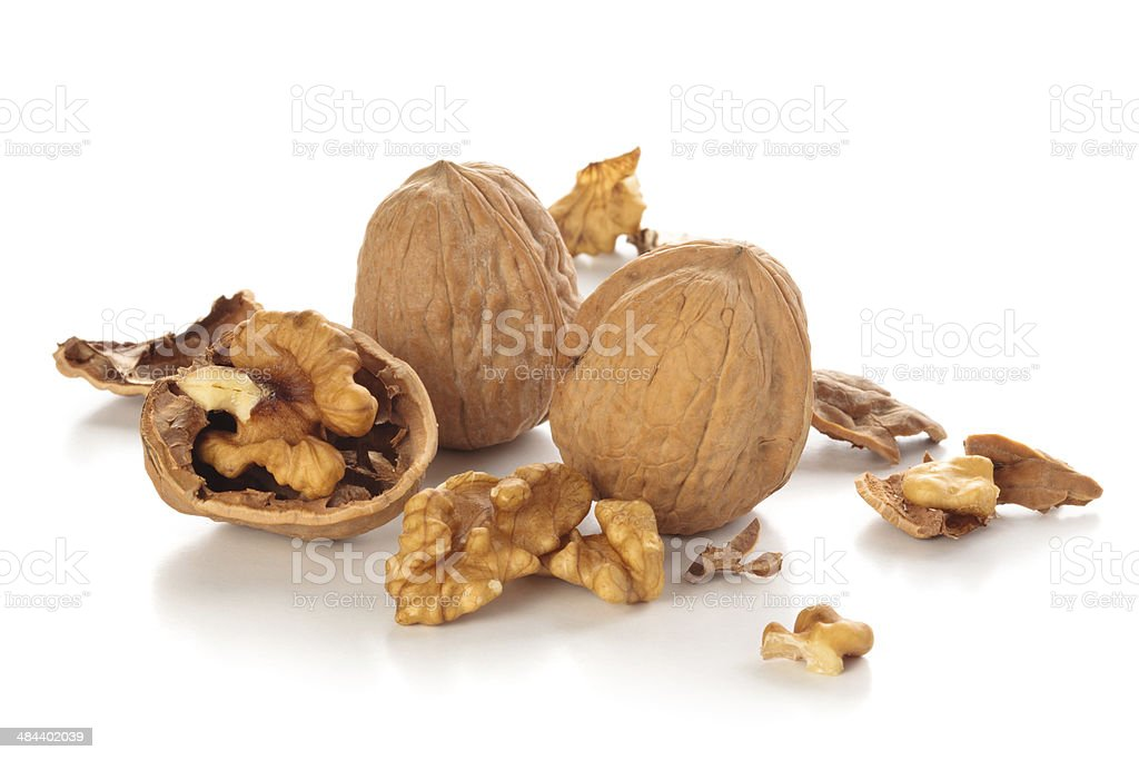 Nuts. royalty-free stock photo