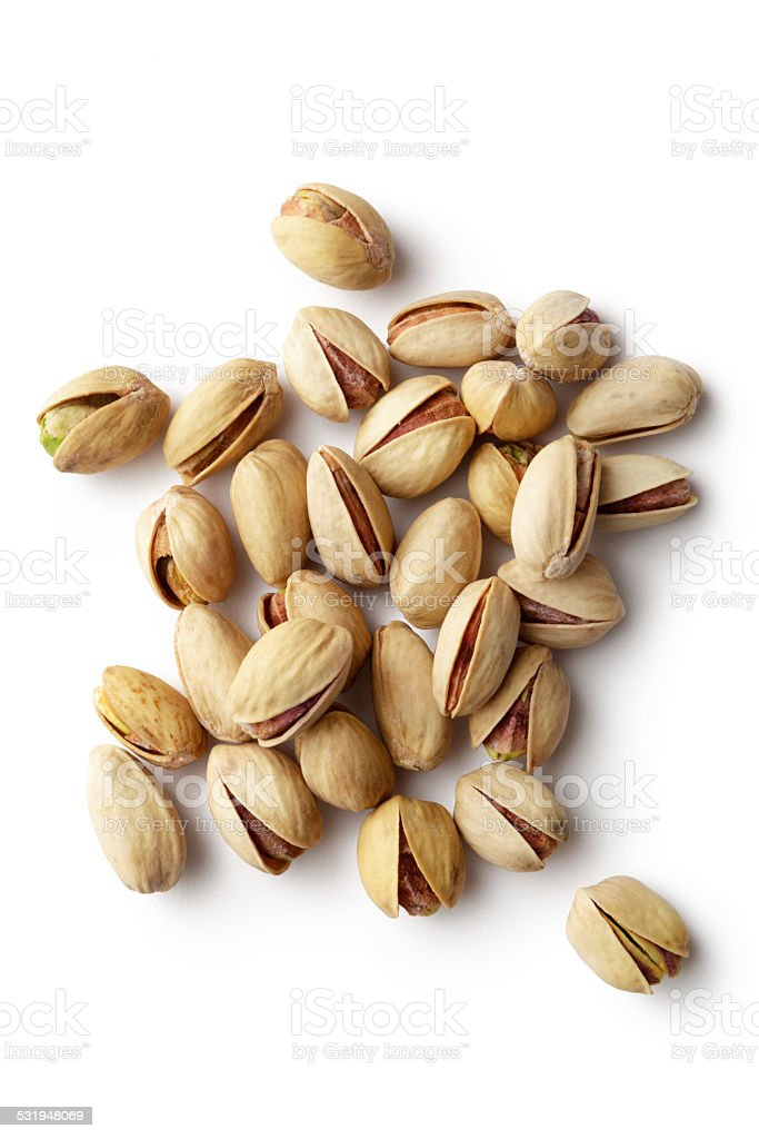 Nuts: Pistachios stock photo