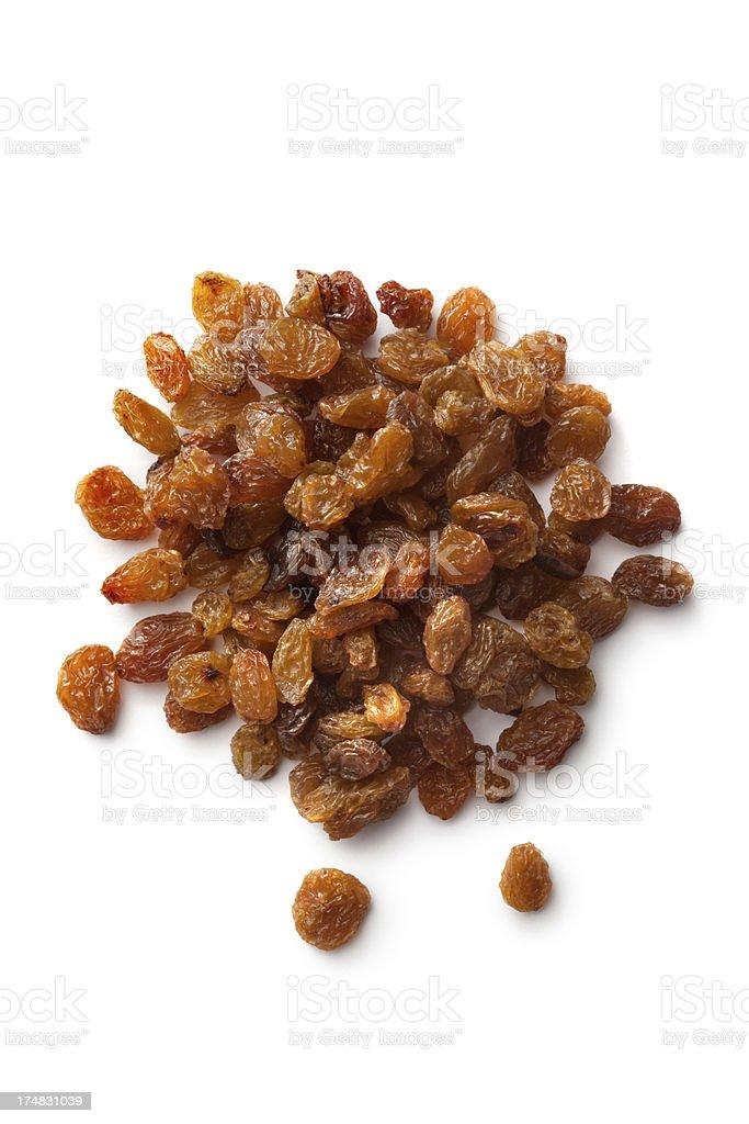 Nuts: Raisins royalty-free stock photo