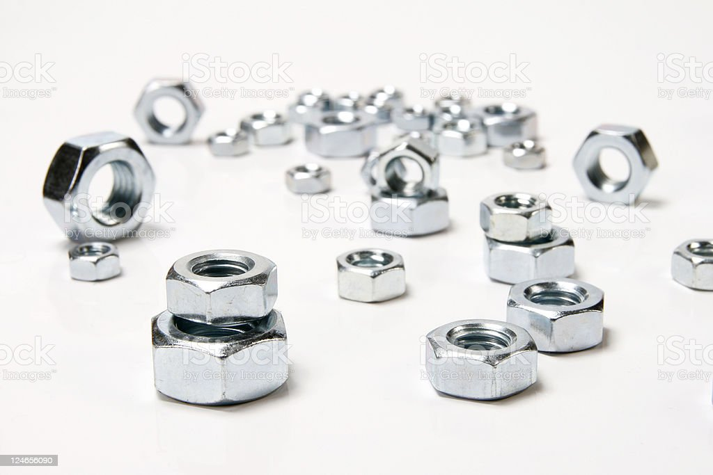 Nuts series royalty-free stock photo