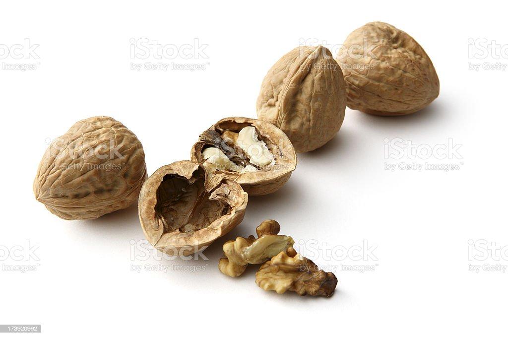 Nuts: Walnut royalty-free stock photo