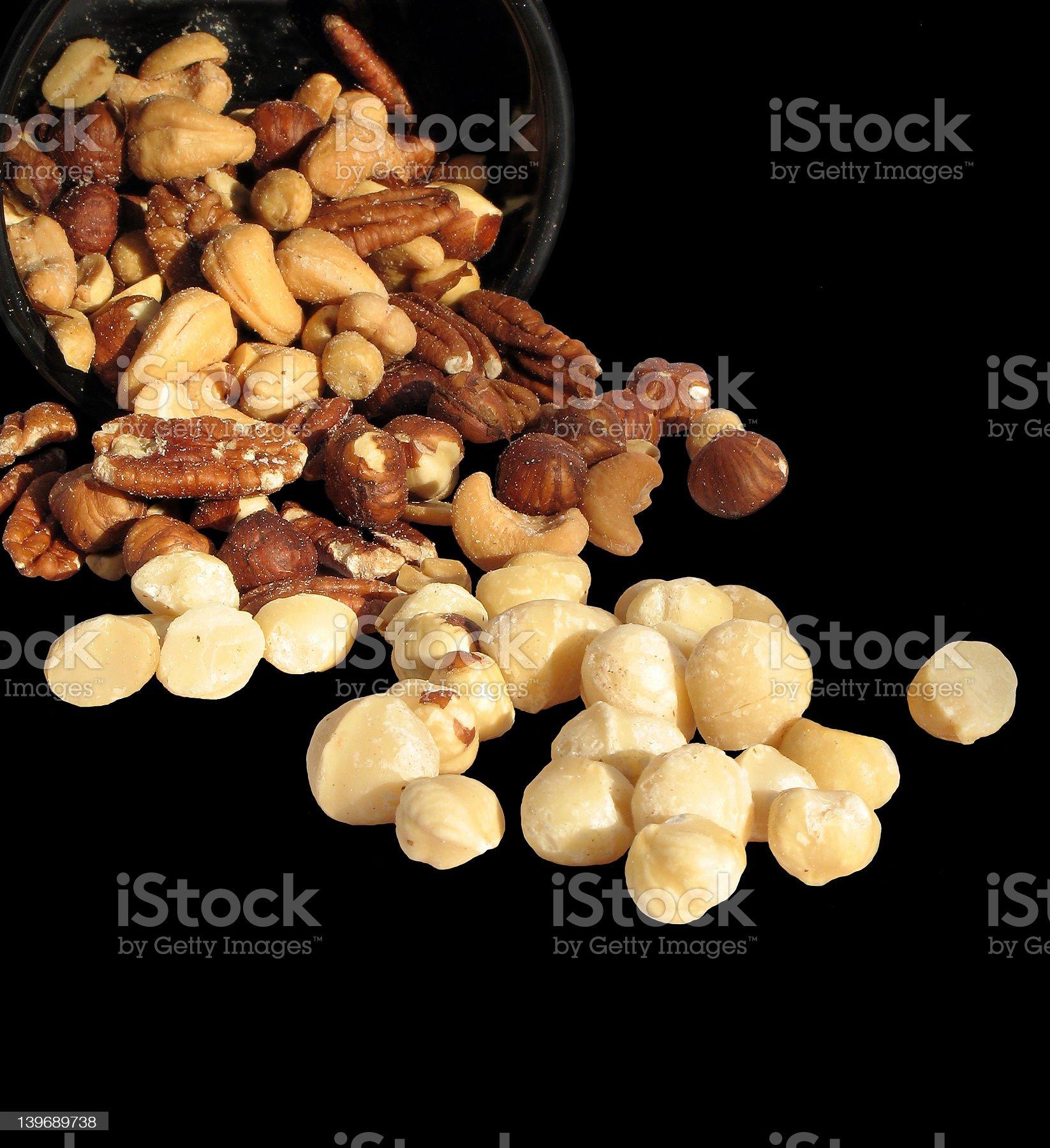 Nutsy royalty-free stock photo