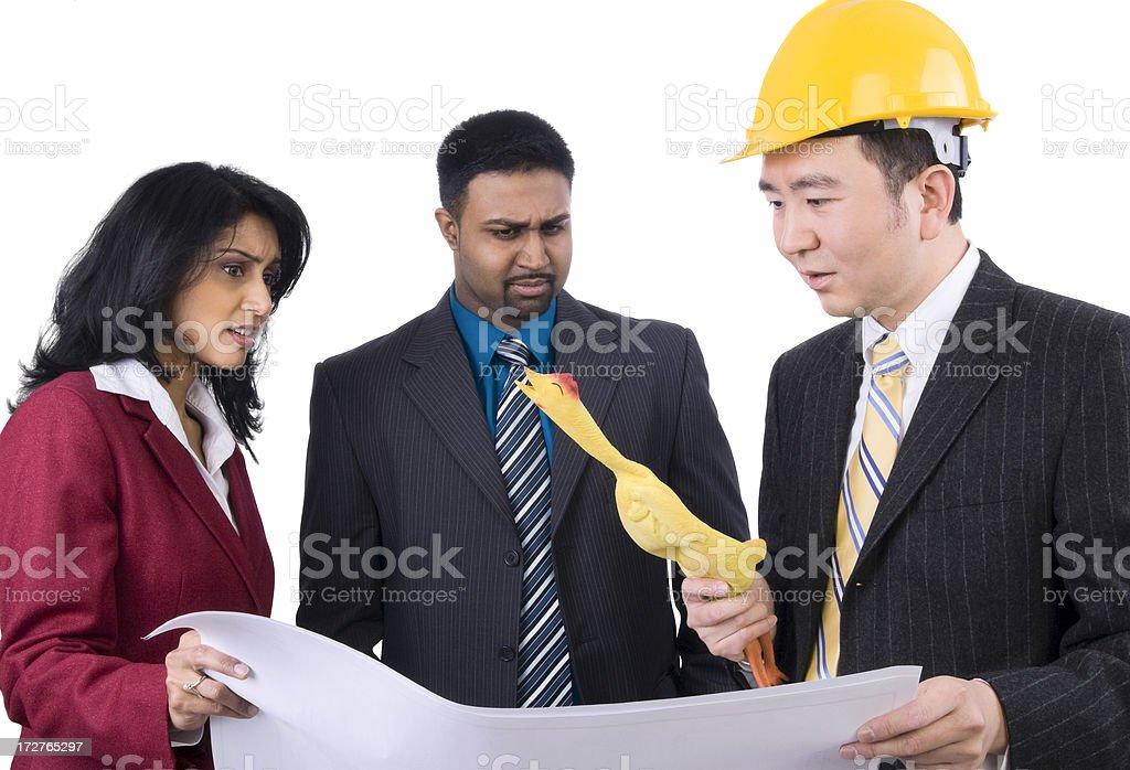 Nutty Engineer stock photo