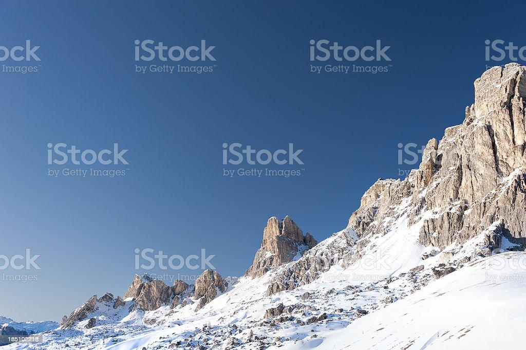 Nuvolau e Averau stock photo